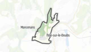 Mapa / Appenans