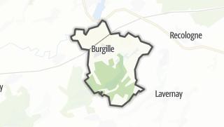 Mapa / Burgille