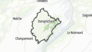 Mapa / Damprichard