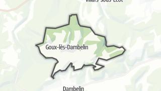 Térkép / Goux-lès-Dambelin