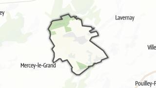 Térkép / Lantenne-Vertière