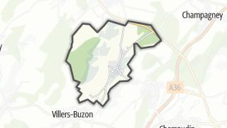 Mapa / Mazerolles-le-Salin