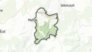 Mapa / Mandeure