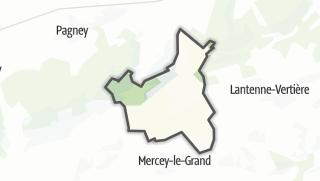 Mapa / Etrabonne