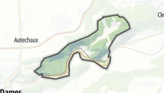 Mapa / Hyèvre-Paroisse