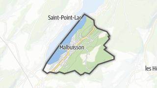 Mapa / Malbuisson