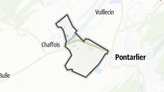 Mapa / Houtaud