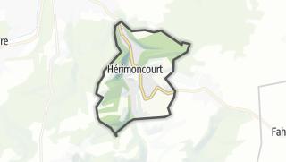 Térkép / Hérimoncourt