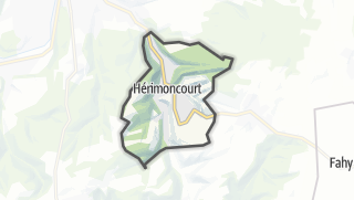 Mapa / Hérimoncourt