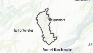 Térkép / Les Ecorces