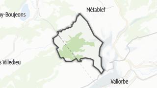 Mapa / Longevilles-Mont-d'Or