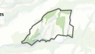 Mapa / Lomont-sur-Crête