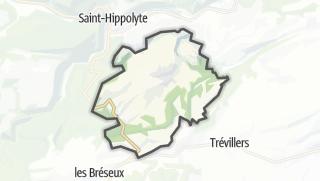 Mapa / Montandon