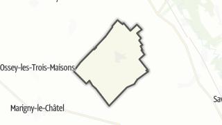 Mapa / Orvilliers-Saint-Julien