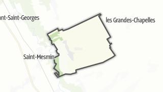 Mapa / Rilly-Sainte-Syre