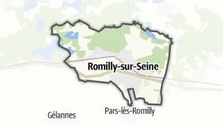 Mapa / Romilly-sur-Seine