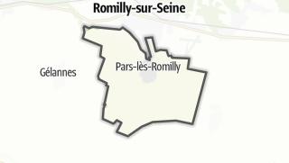 Mapa / Pars-lès-Romilly