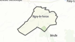 Mapa / Rigny-le-Ferron
