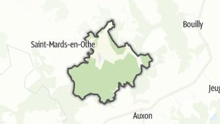 Mapa / Maraye-en-Othe