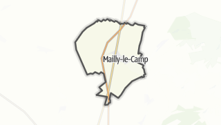 Mapa / Mailly-le-Camp