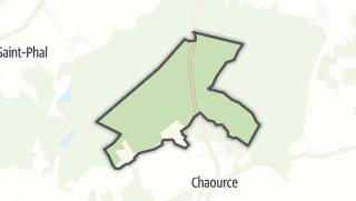 Mapa / Les Loges-Margueron