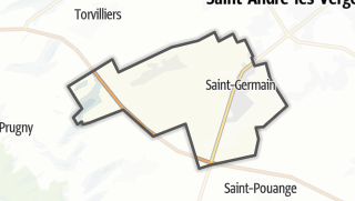 Mapa / Saint-Germain