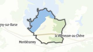Mapa / Mesnil-Saint-Père