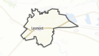 Mapa / Lesmont