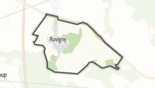 Mapa / Ruvigny