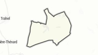 Mapa / Soligny-les-Etangs
