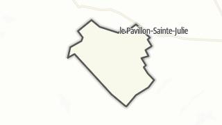 Mapa / Villeloup