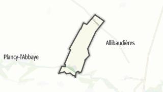 Mapa / Viâpres-le-Petit