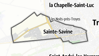 Mapa / Sainte-Savine