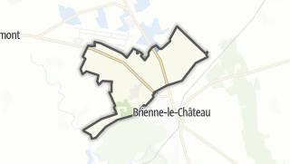 Mapa / Saint-Léger-sous-Brienne