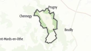 Mapa / Vauchassis