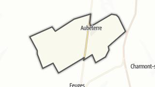 Mapa / Aubeterre