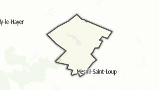 Mapa / Faux-Villecerf