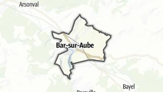 Mapa / Bar-sur-Aube