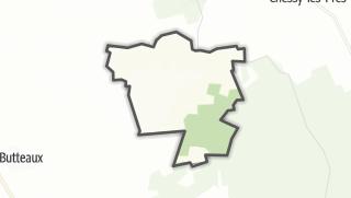 Mapa / Les Croûtes
