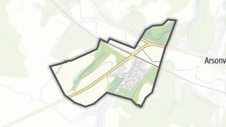Mapa / Dolancourt