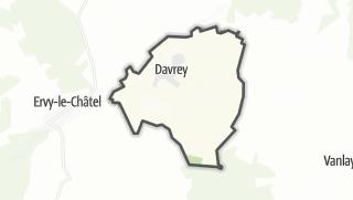 Mapa / Davrey