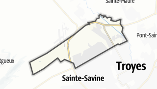 Mapa / La Chapelle-Saint-Luc
