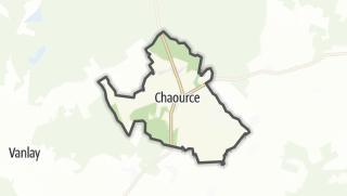Mapa / Chaource