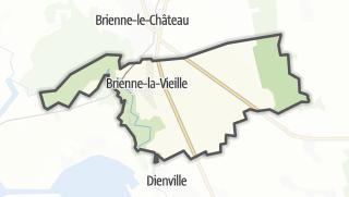 Mapa / Brienne-la-Vieille