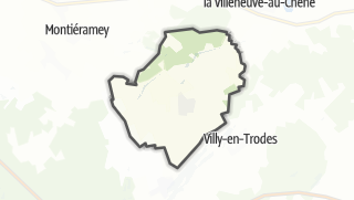 Mapa / Briel-sur-Barse