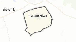 Mapa / Fontaine-Mâcon