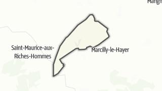 Mapa / Bourdenay