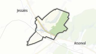 Mapa / Bossancourt