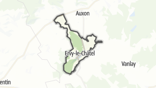 Mapa / Ervy-le-Châtel