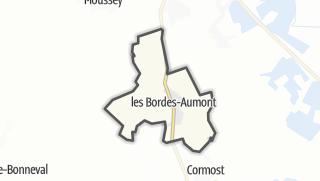 Mapa / Les Bordes-Aumont